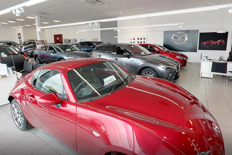 Mazda Shrewsbury showroom