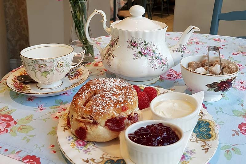 Anyone for Tea and Scone?