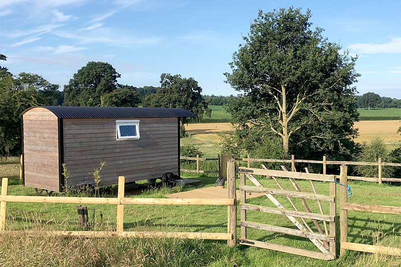 River Meese Shepherds Huts