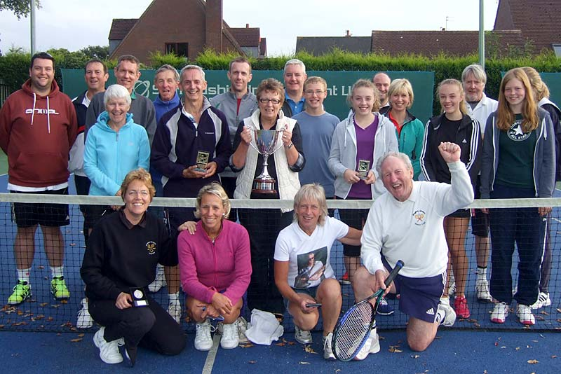 members of newport tennis club