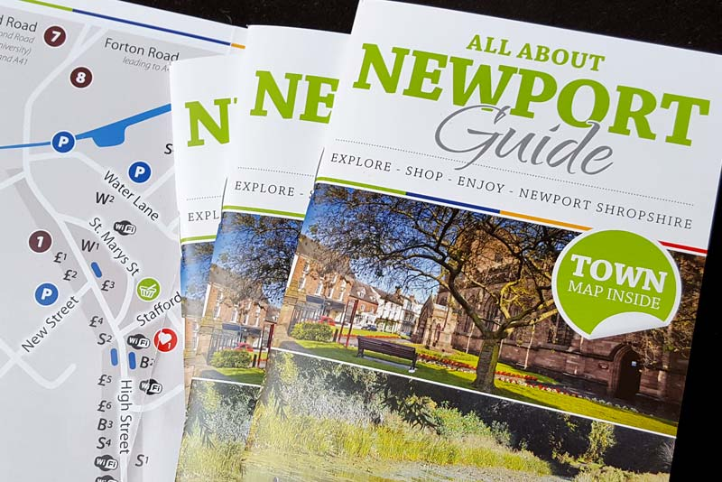 cover of newport town guide