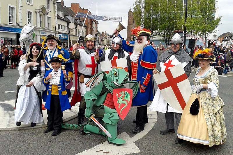 st georges day event newport