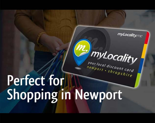 shopper with mylocality discount card