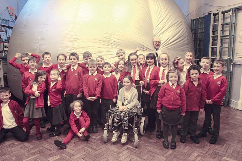 space week at church eaton primary school