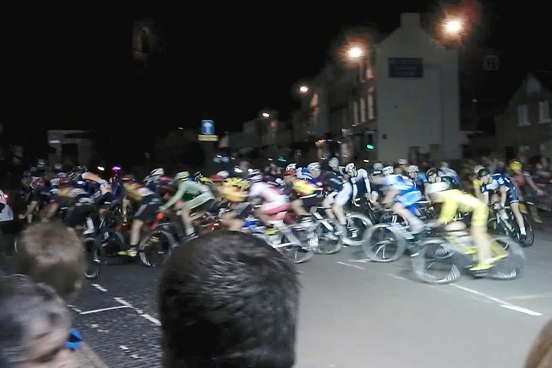 newport cycle race