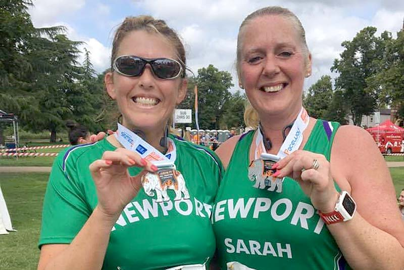 newport runners at spa half marathon